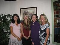 Left to right:  U.S. Atty. Mary Beth Buchanan, Alicia and Mary Kozakiewicz, and EIE President Donna Rice Hughes